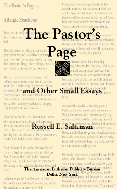 The Pastor's Page and Other Small Essays