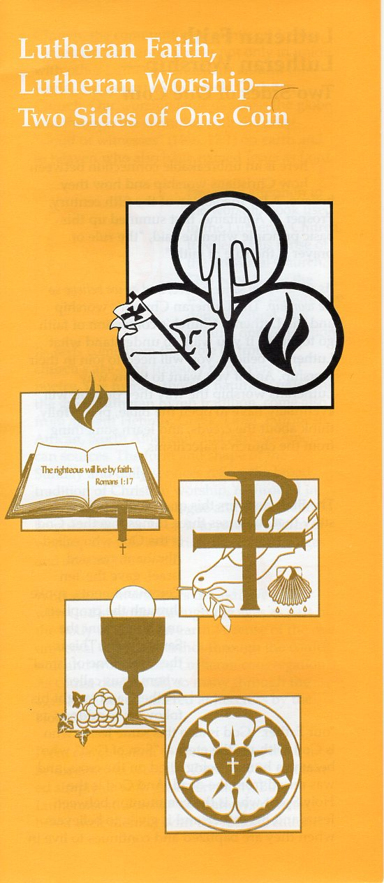 Lutheran Faith, Lutheran Worship – L104